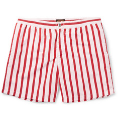 Tod's Mid-Length Striped Swim Shorts