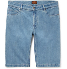 Tod's Stretch-Denim Shorts