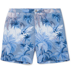 Tod's - Mid-Length Printed Swim Shorts