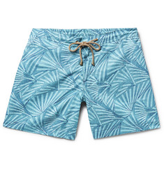 Thorsun Titan Slim-Fit Mid-Length Printed Swim Shorts