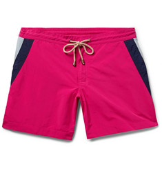 Thorsun Titan Slim-Fit Mid-Length Striped Swim Shorts