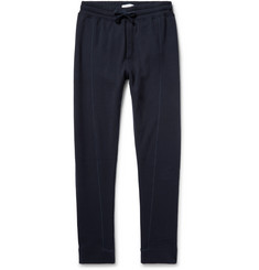Hamilton and Hare Air Tapered Fleece-Back Cotton-Jersey Sweatpants