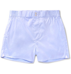 Hamilton and Hare Cotton-Twill Boxer Shorts
