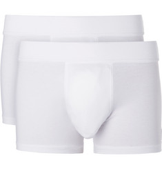 Hamilton and Hare Two-Pack Stretch-Jersey Boxer Briefs