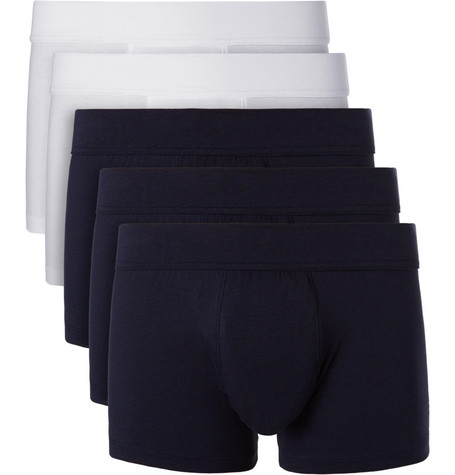 Five-pack Stretch-jersey Boxer Briefs - Multi