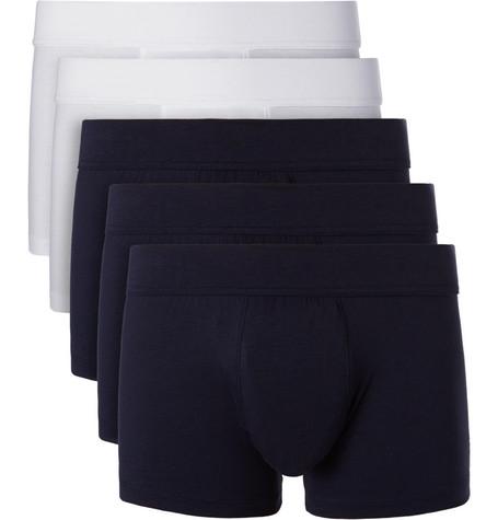 Five-pack Stretch-jersey Boxer Briefs - Multi