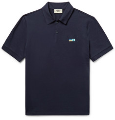 Everest Isles Cotton-Jersey Polo Shirt