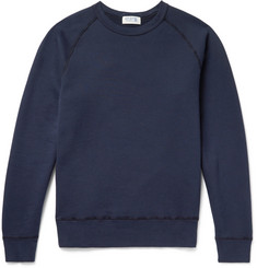 Velva Sheen Freedom Loopback Cotton-Jersey Sweatshirt