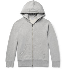 Velva Sheen Loopback Cotton-Blend Jersey Zip-Up Hoodie