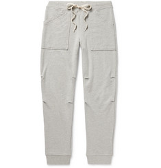 Velva Sheen - Slim-Fit Tapered Loopback Cotton-Jersey Sweatpants