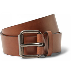 Álvaro 3.5 cm Brown Leather Belt
