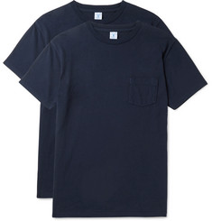 Velva Sheen - Two-Pack Cotton-Jersey T-Shirts