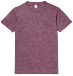 Velva Sheen Slim-Fit Mélange Cotton-Blend Jersey T-Shirt