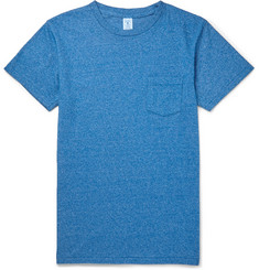 Velva Sheen Mélange Cotton-Blend Jersey T-Shirt