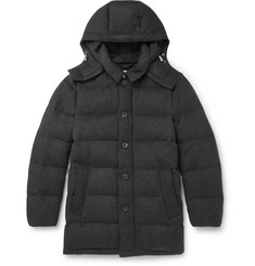Mackintosh Virgin Wool Quilted Hooded Down Jacket