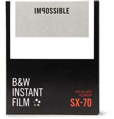 impossible Project - Polaroid SX-70 Black & White Instant Film