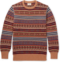 William Lockie - Fair Isle Cashmere Sweater