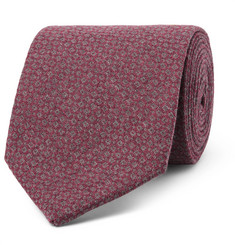 Oliver Spencer 8cm Two-Tone Cotton-Jacquard Tie
