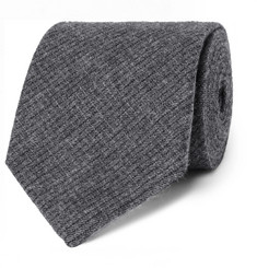 Oliver Spencer - 8cm Mélange Cotton-Jacquard Tie