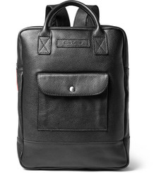 Oliver Spencer - Full-Grain Leather Backpack