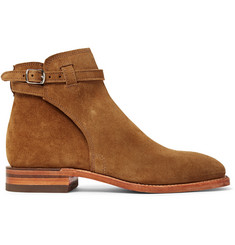 R.M.Williams Stockman Suede Jodhpur Boots