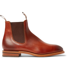 R.M.Williams Chinchilla Burnished-Leather Chelsea Boots