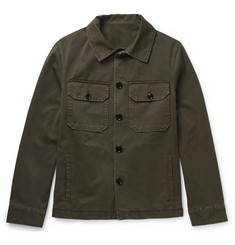 MP Massimo Piombo Slim-Fit Cotton-Twill Jacket
