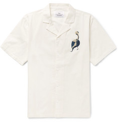 Folk - + Goss Brothers Pelican Camp-Collar Printed Cotton-Twill Shirt