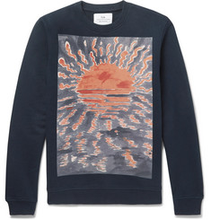 Folk + Goss Brothers Setting Sun Loopback Cotton-Jersey Sweatshirt