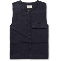 The Lost Explorer Traveler Boiled Wool and Cotton-Blend Sweater Vest