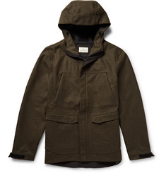 The Lost Explorer Waterproof Stretch Merino Wool Corkshell Hooded Jacket
