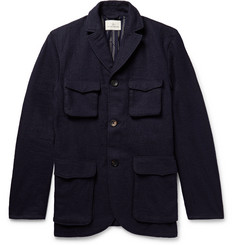 The Lost Explorer - Traveler Boiled Cotton and Wool-Blend Field Jacket