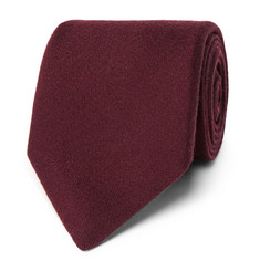 Charvet - 7.5cm Silk And Wool-Blend Tie