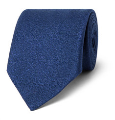 Charvet 8.5cm Silk and Wool-Blend Tie