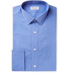 Charvet Blue Cotton-Poplin Shirt