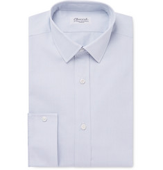 Charvet Grey Checked Cotton-Twill Shirt
