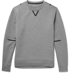 Under Armour Sportswear Slim-Fit Water-Resistant Stretch-Jersey Sweatshirt