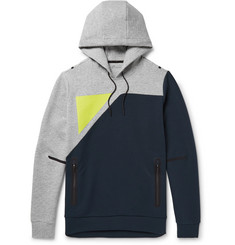 Under Armour Sportswear Tailgate Colour-Block Water-Resistant Jersey Hoodie