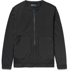 Under Armour Sportswear Pivot Slim-Fit Stretch-Jersey Bomber Jacket