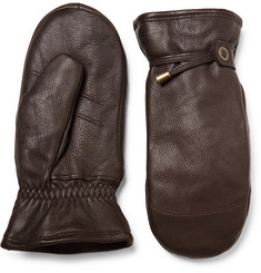 Hestra - Shearling-Lined Leather Mittens