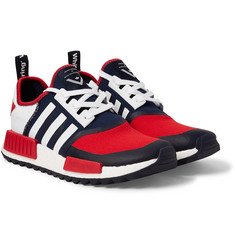 adidas Originals + White Mountaineering NMD TRAIL Rubber-Trimmed Primeknit Sneakers