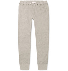 Secondskin - Slim-Fit Tapered Loopback Supima Cotton-Jersey Sweatpants
