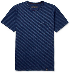 rag & bone James Slim-Fit Striped Cotton-Jersey T-Shirt