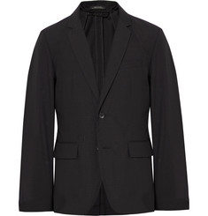rag & bone Black Philips Slim-Fit Striped Cotton-Blend Blazer