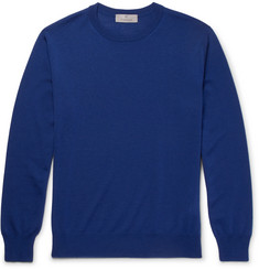 Canali Slim-Fit Merino Wool Sweater