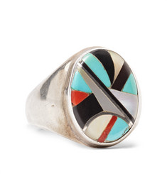 Foundwell Vintage Sterling Silver Multi-Stone Ring