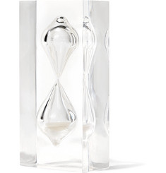 Foundwell Vintage 1970s Lucite Hourglass