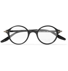 Barton Perreira Frey Round-Frame Acetate Optical Glasses