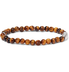 TATEOSSIAN Tiger's Eye Sterling Silver Bracelet
