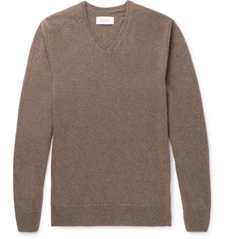 Mélange Cashmere Sweater - Mushroom